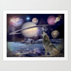 Moon Struck Art Print