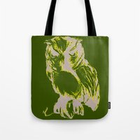 Owl Color Tote Bag