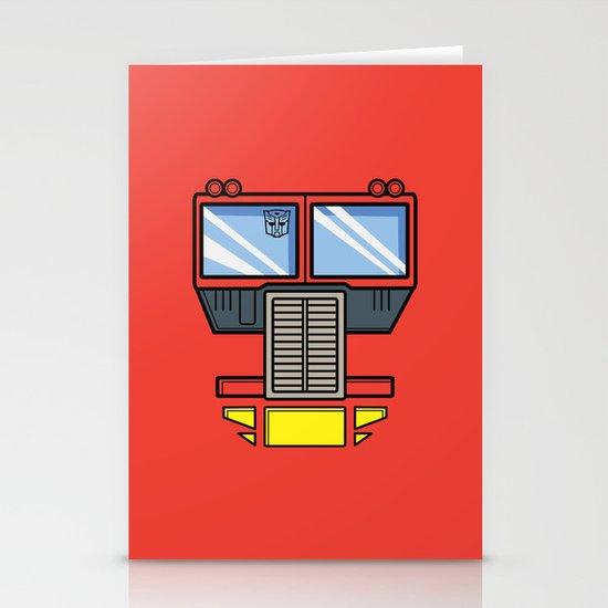 Transformers - Optimus Prime Stationery Card