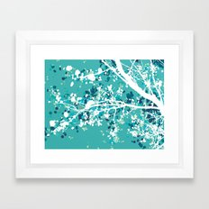 Carefree Days (mint edition) Framed Art Print