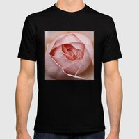 Morning Dew Mens Fitted Tee Black SMALL