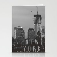 S K Y L I N E Stationery Cards