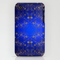 Floral Pattern iPhone (3g, 3gs) Slim Case