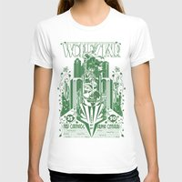 Another World's Fair Womens Fitted Tee White SMALL