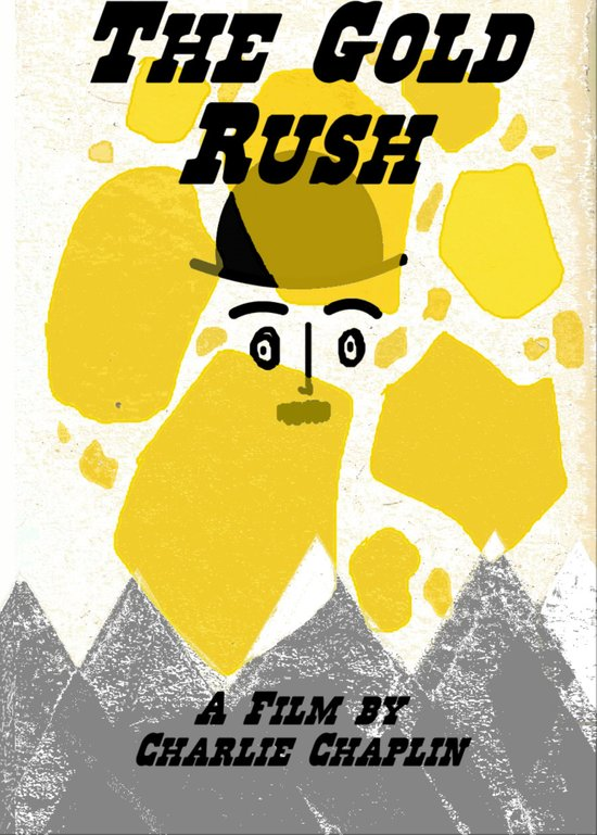 "Chaplin's ""The Gold Rush"" Art Print"