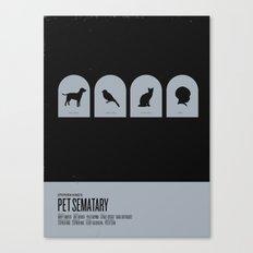 Pet Sematary Canvas Print