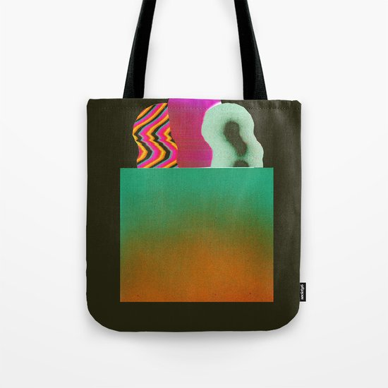 Bagged Groceries Tote Bag