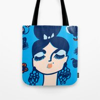Diamonds And Pearls In Y… Tote Bag
