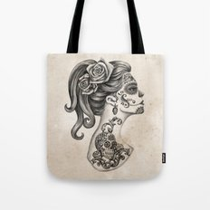 Day of the Dead Girl Tote Bag