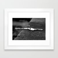 Keys Framed Art Print