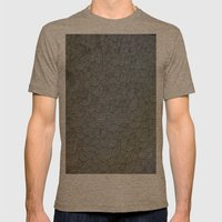 Sea Of Lines Mens Fitted Tee Tri-Coffee SMALL