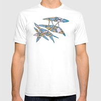 Hiva-03 Mens Fitted Tee White SMALL