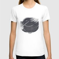 Ground Womens Fitted Tee White SMALL