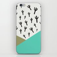 Cactus – Minty iPhone & iPod Skin