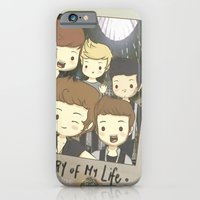 iPhone & iPod Case featuring One Direction Story of My Life Cartoon by xjen94