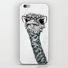 Poetic Ostrich  iPhone & iPod Skin