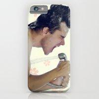 iPhone & iPod Case featuring shower rockstar by Davi Ozolin