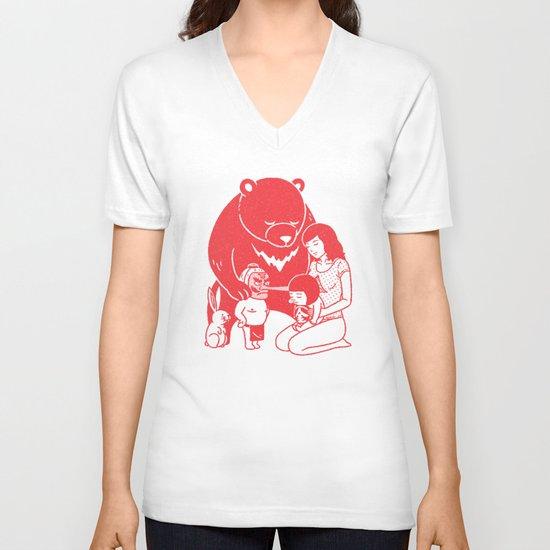 ZZZ V-neck T-shirt
