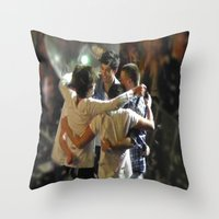One Direction Madison Square Garden MSG 2 Throw Pillow