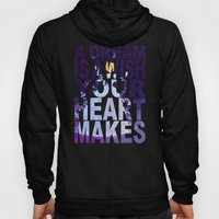 Disney's Cinderella A Dream is a Wish Your Heart Makes in Purple Hoody