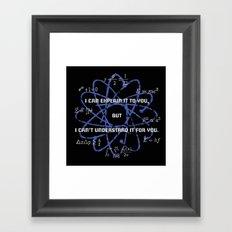 Theory Framed Art Print