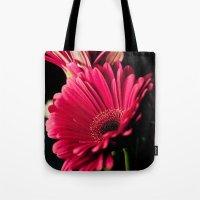 Pink Shadows Tote Bag