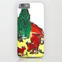 Big Moo, Wee Moo (colore… iPhone 6 Slim Case