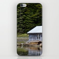 Sheltered Reflections iPhone & iPod Skin
