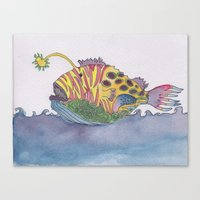 rem fish Canvas Print