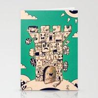Man Castle Stationery Cards