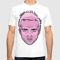 Jesse Pinkman Mens Fitted Tee White SMALL