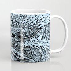 i only surf on SHARKS! Mug