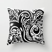 Throw Pillow featuring Abstract by Mary Mohr