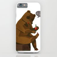 iPhone & iPod Case featuring Mrs. Bear by Beati