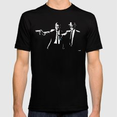 Say My Name One More Time Black SMALL Mens Fitted Tee