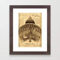 Cathedral of Water Framed Art Print