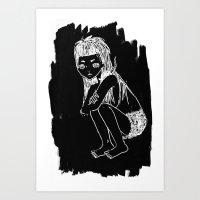 Die Antwoord : Yolandi Visser Art Print