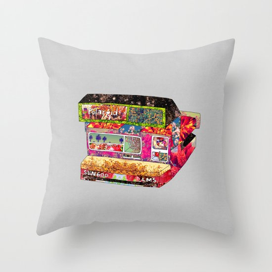 Instant Picture This Throw Pillow