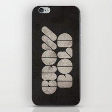 GROW BOLD iPhone & iPod Skin
