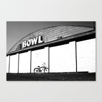 Canvas Print featuring Let's Bowl by Vorona Photography