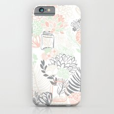 Cucumber Peaches and Cream Mason Jar wedding iPhone 6s Slim Case