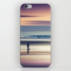 Sharing the Magic - abstract seascape at sunset iPhone & iPod Skin