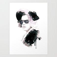 Mr. Styles Art Print