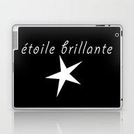 Laptop & iPad Skin featuring étoile Brillante - Bril… by Wild Typography