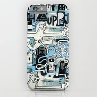 iPhone & iPod Case featuring Uppercut by Exit Man