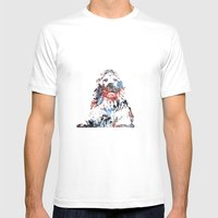 King Mens Fitted Tee White SMALL