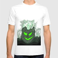 Golem Grotto Mens Fitted Tee White SMALL
