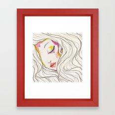 SEVEN Framed Art Print