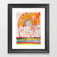 Shine On Me Like The Sun… Framed Art Print