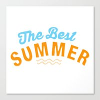 The Best Summer Canvas Print
